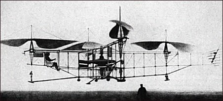 Oemichen flying machine (1923).