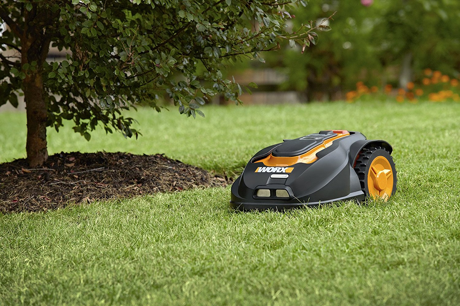 Robotic remote control Lawn Mower