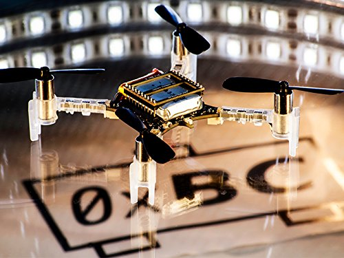 crazyflie quadcopter has an impressive small size