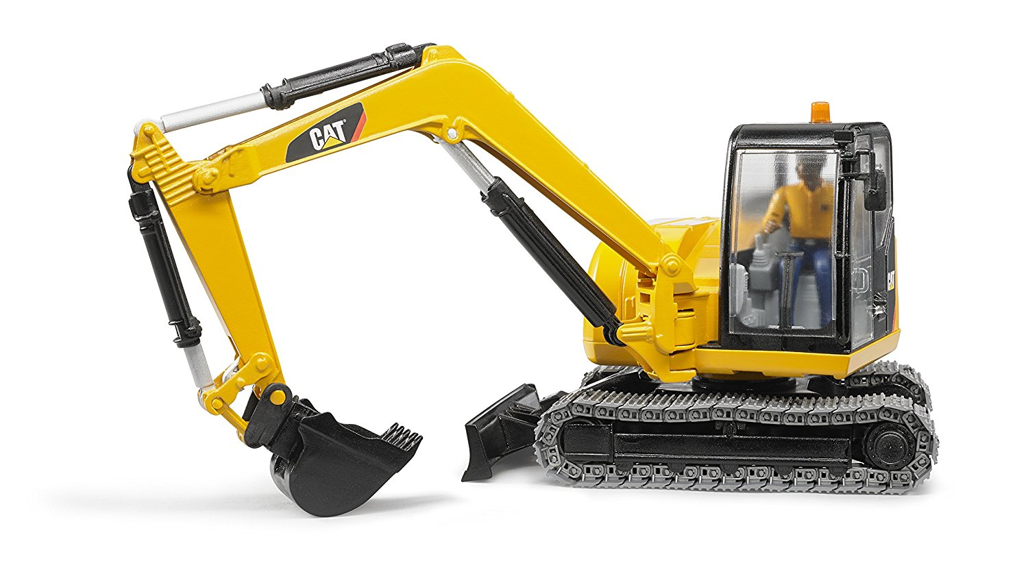 Mini excavator vehicle