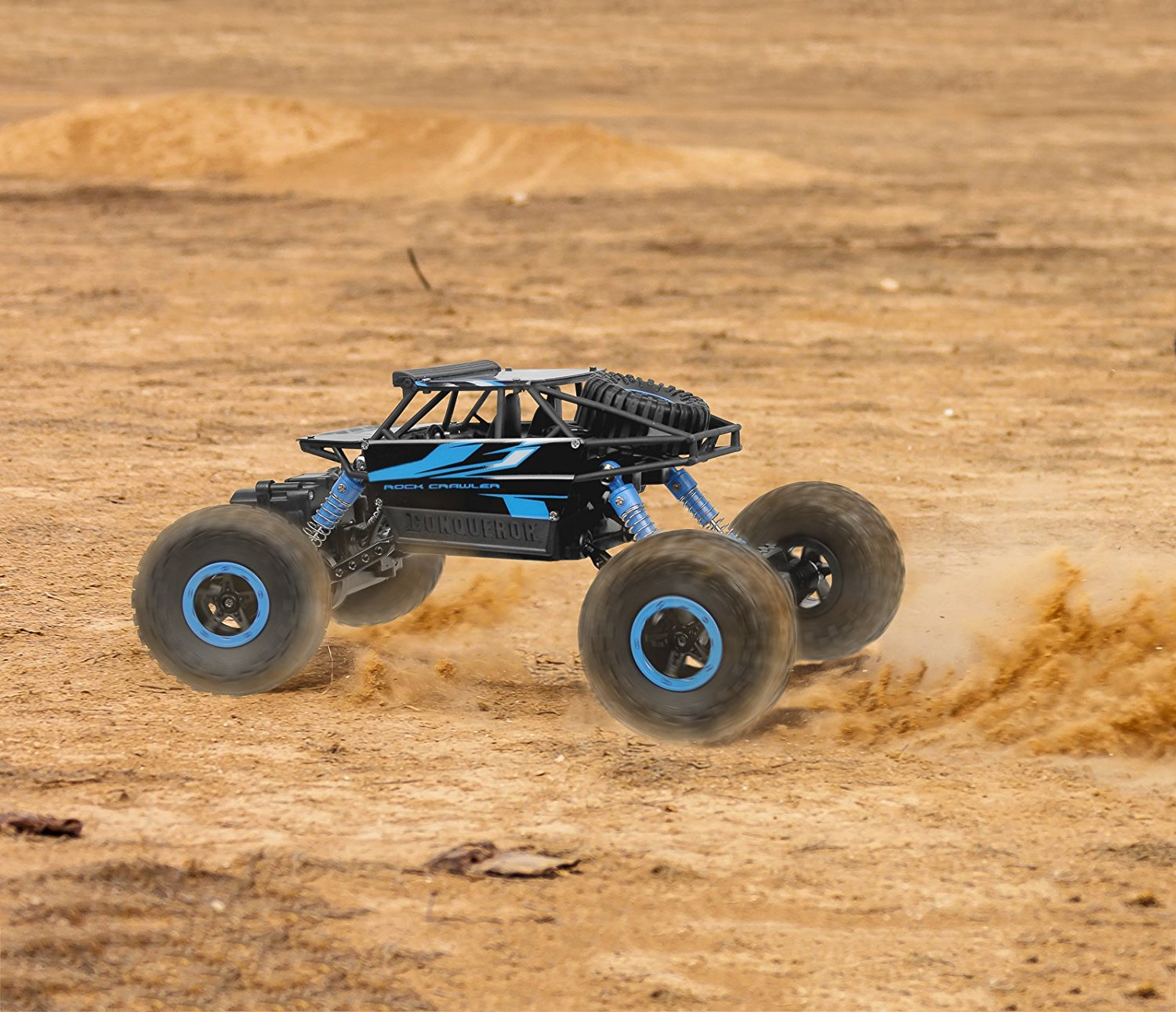 Crawler RC Car Blue Vehicle