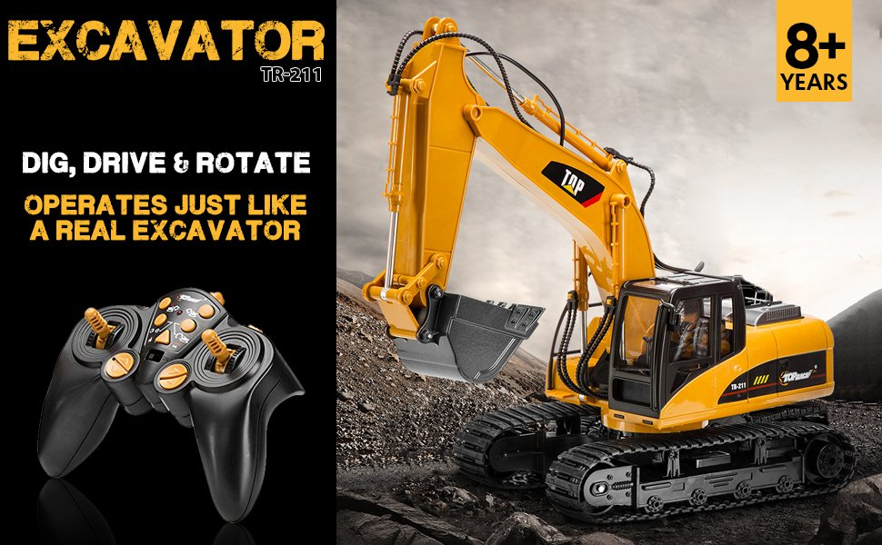 Top 5 Best RC Hydraulic Excavator Construction Machinery 2018 Quadcopters Flying Squadron