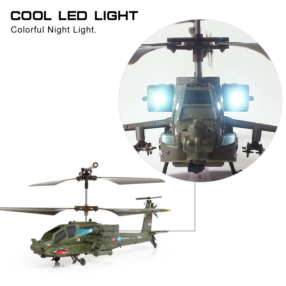 Remote Control attack helicopter