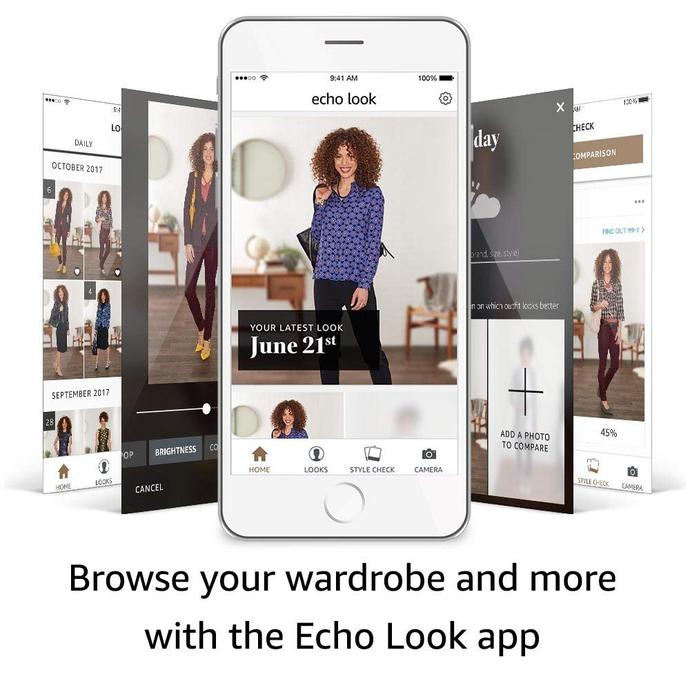 Echo Look: Smart camera for your daily clothing style.